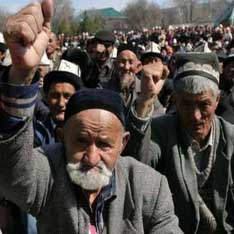 Восстание охватило еще один узбекский город -